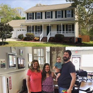 Buyer's agent Kim, assisted Brooks and Linsey with the purchase of their new home!