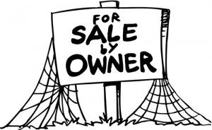 FSBO cartoon sign